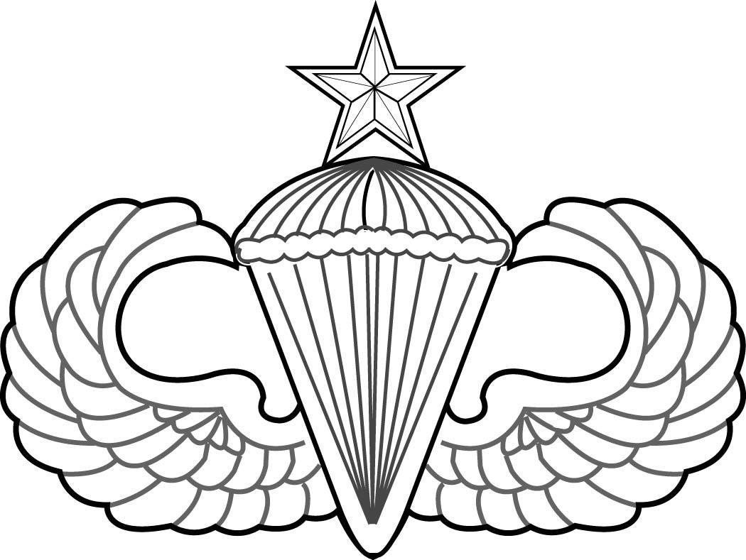 Paratrooper Drawing At Getdrawings