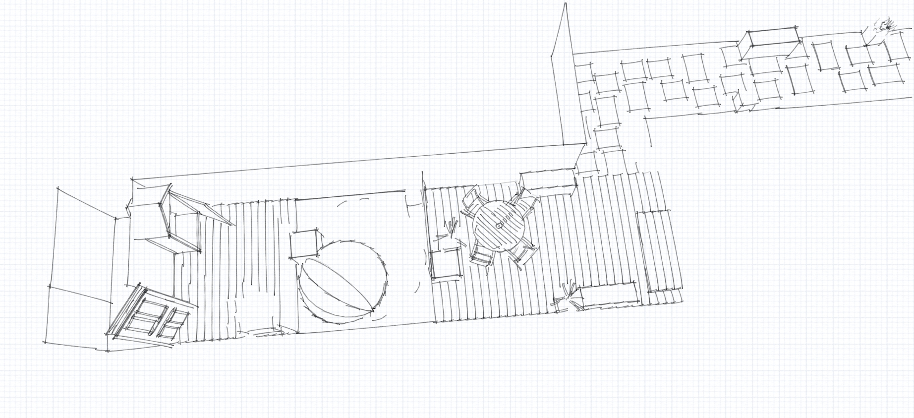 Pathway Drawing At Getdrawings