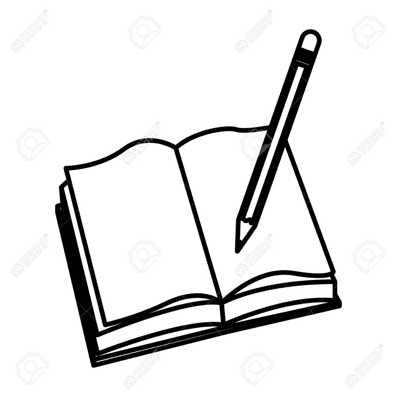 Pencil And Paper Drawing At Getdrawings