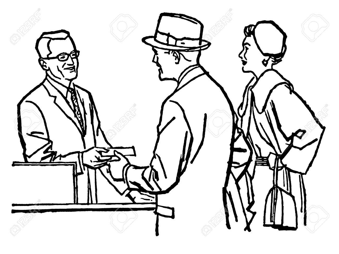 Silhouette People Talking At Getdrawings