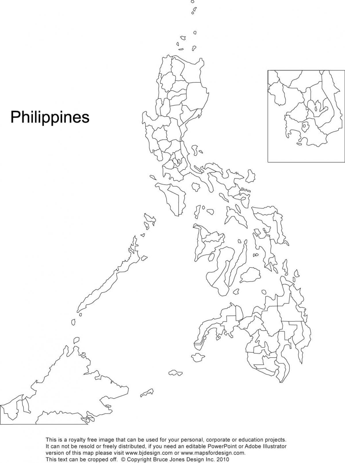 Philippines Map Drawing At Getdrawings