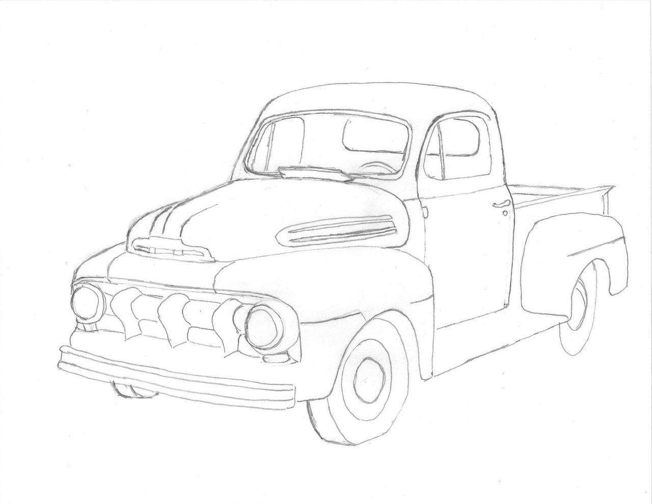 Pickup Drawing At Getdrawings