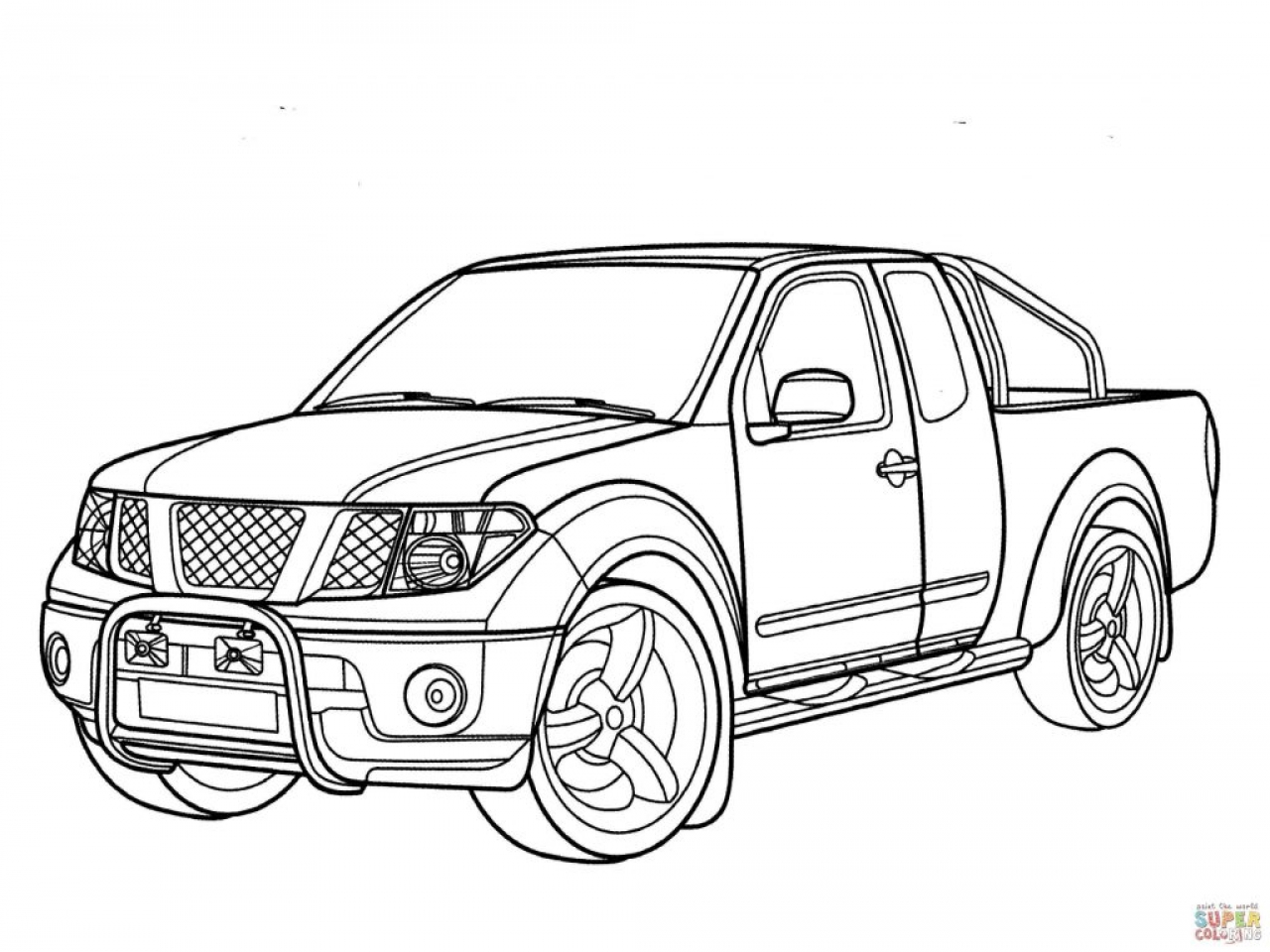 Pickup Truck Drawing At Getdrawings