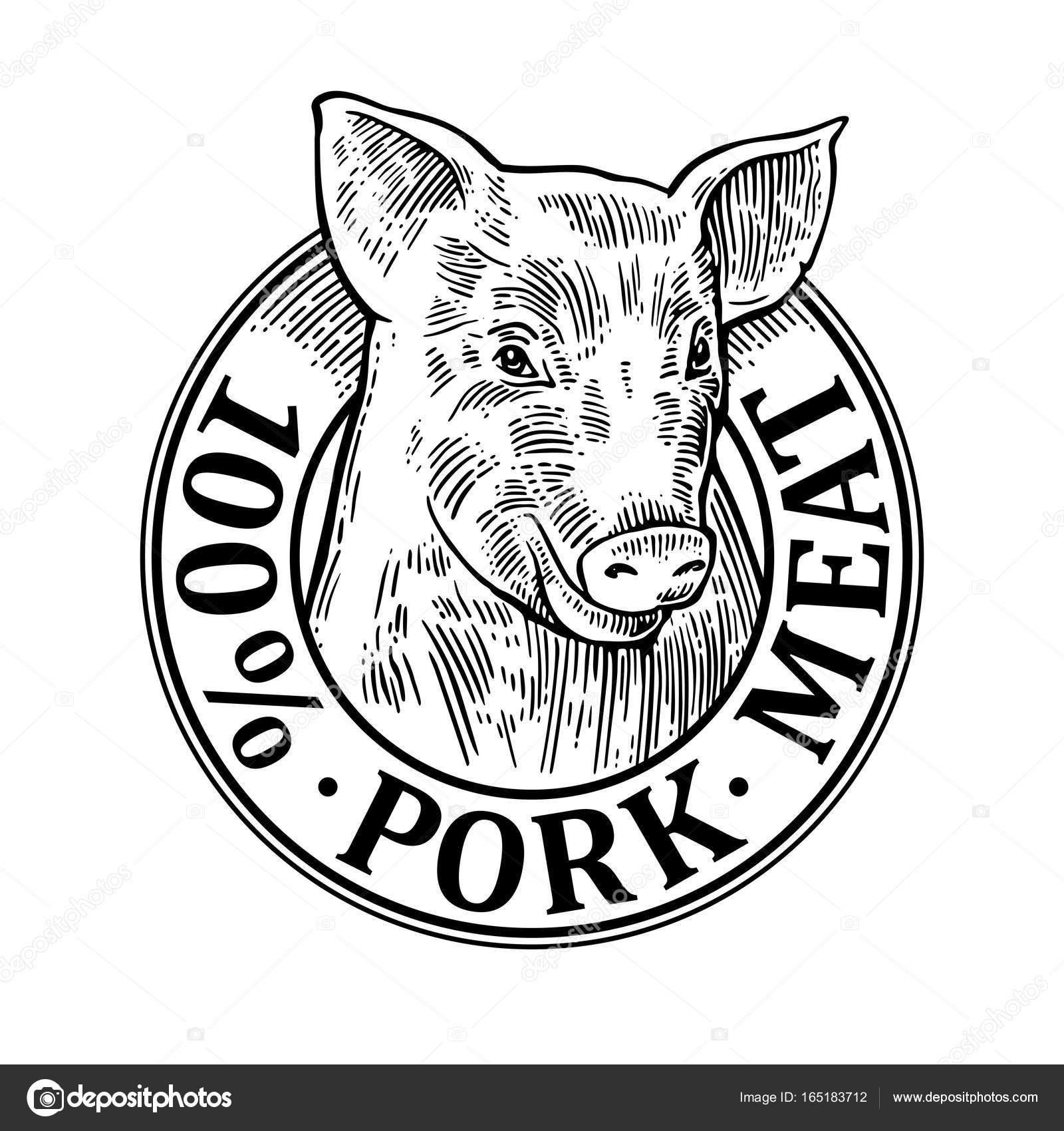 Pig Butcher Drawing At Getdrawings