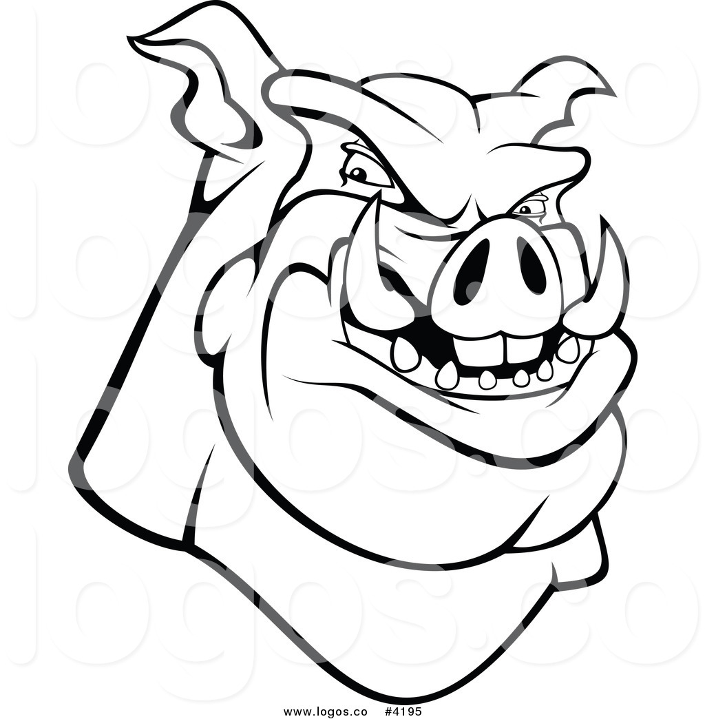 Pig Outline Drawing At Getdrawings