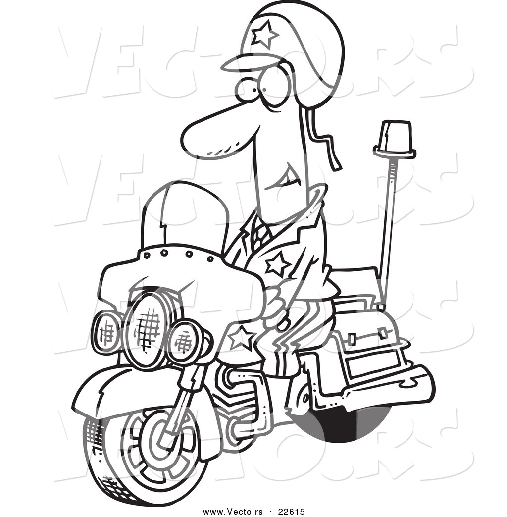 Policeman Drawing At Getdrawings