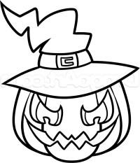 pumpkin drawings halloween
