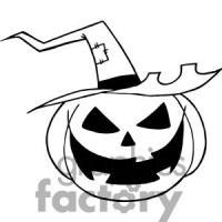 pumpkin drawing halloween
