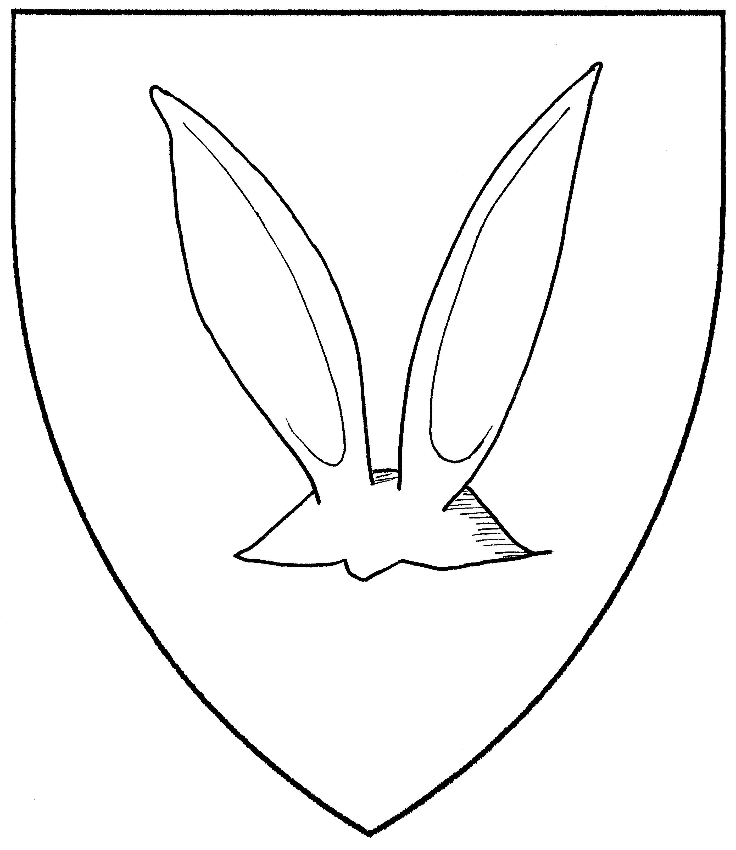 Rabbit Ears Drawing At Getdrawings