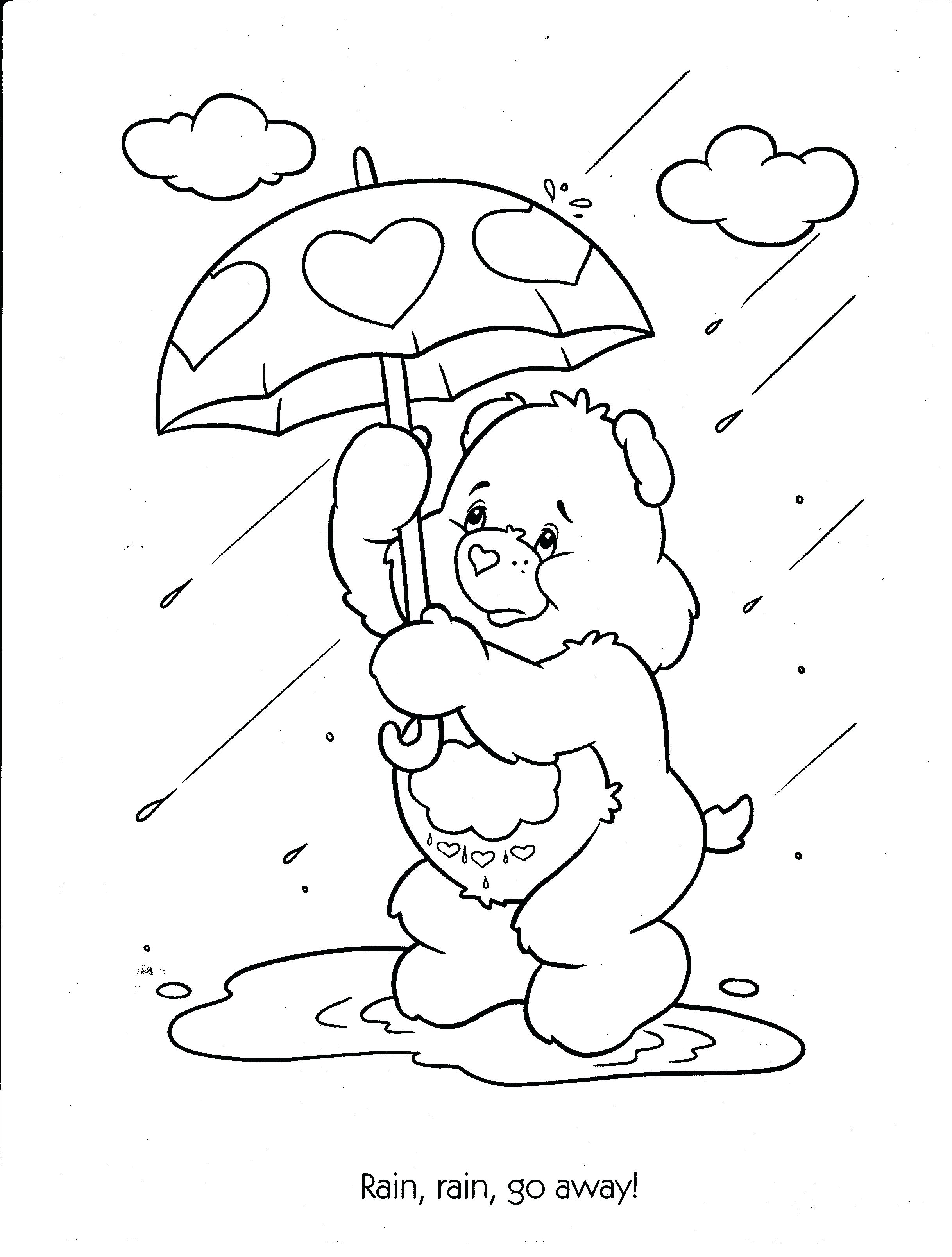 Rainy Day Drawing For Kid At Getdrawings