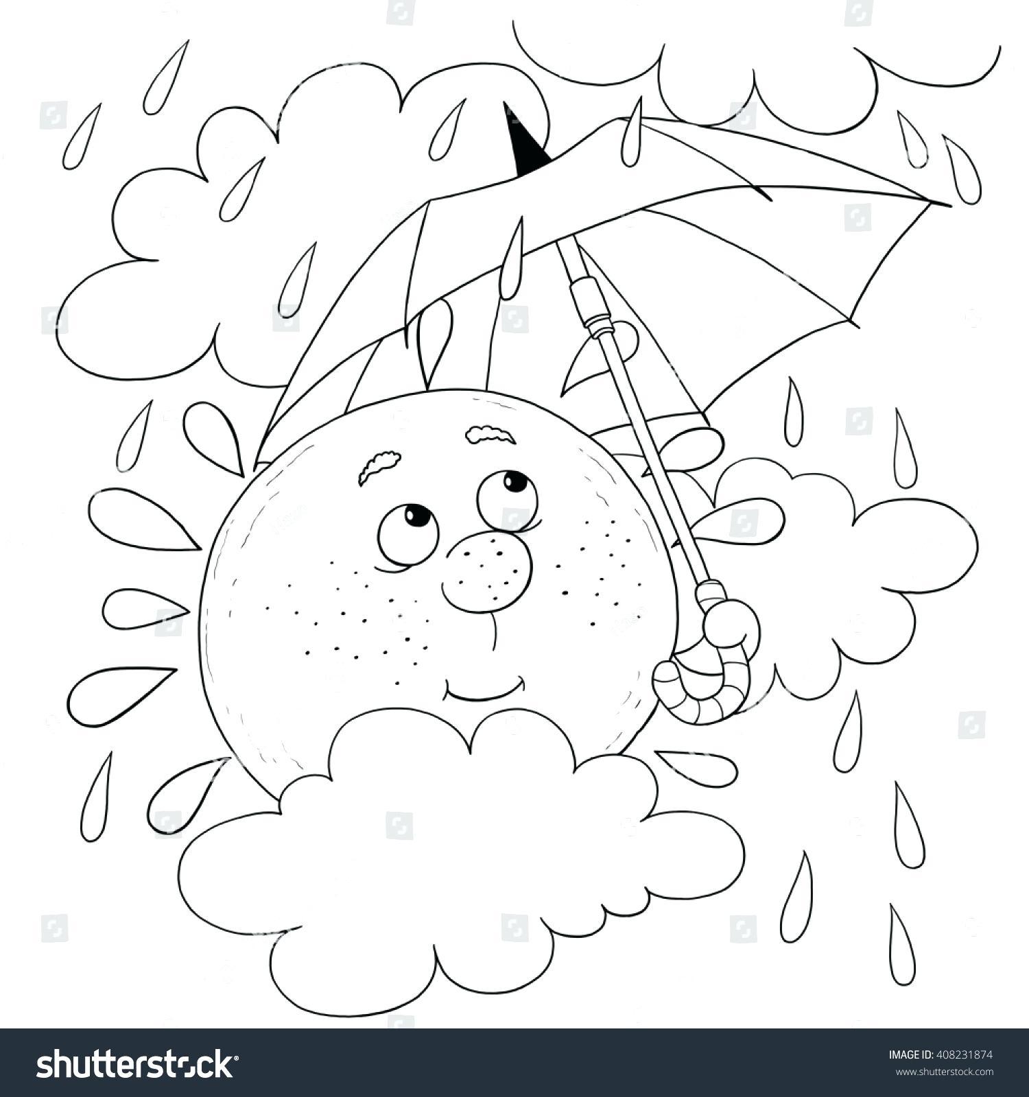 Rainy Days Drawing At Getdrawings