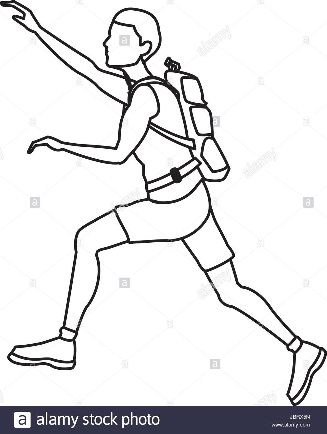 Rock Climber Drawing At Getdrawings