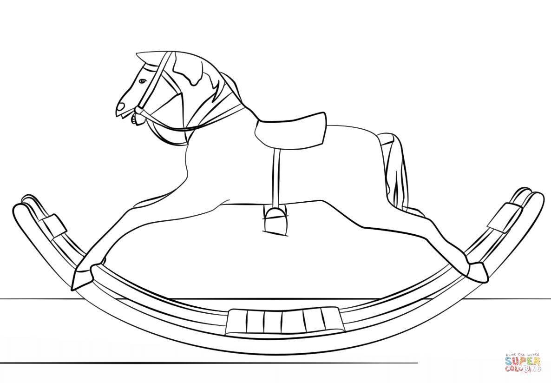 Rocking Horse Animal Jam Drawing