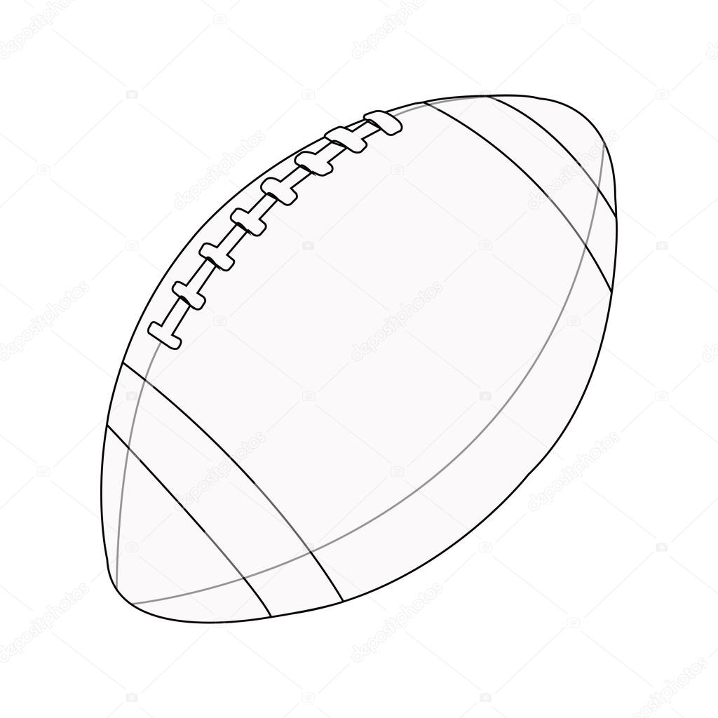 Rugby Ball Drawing At Getdrawings