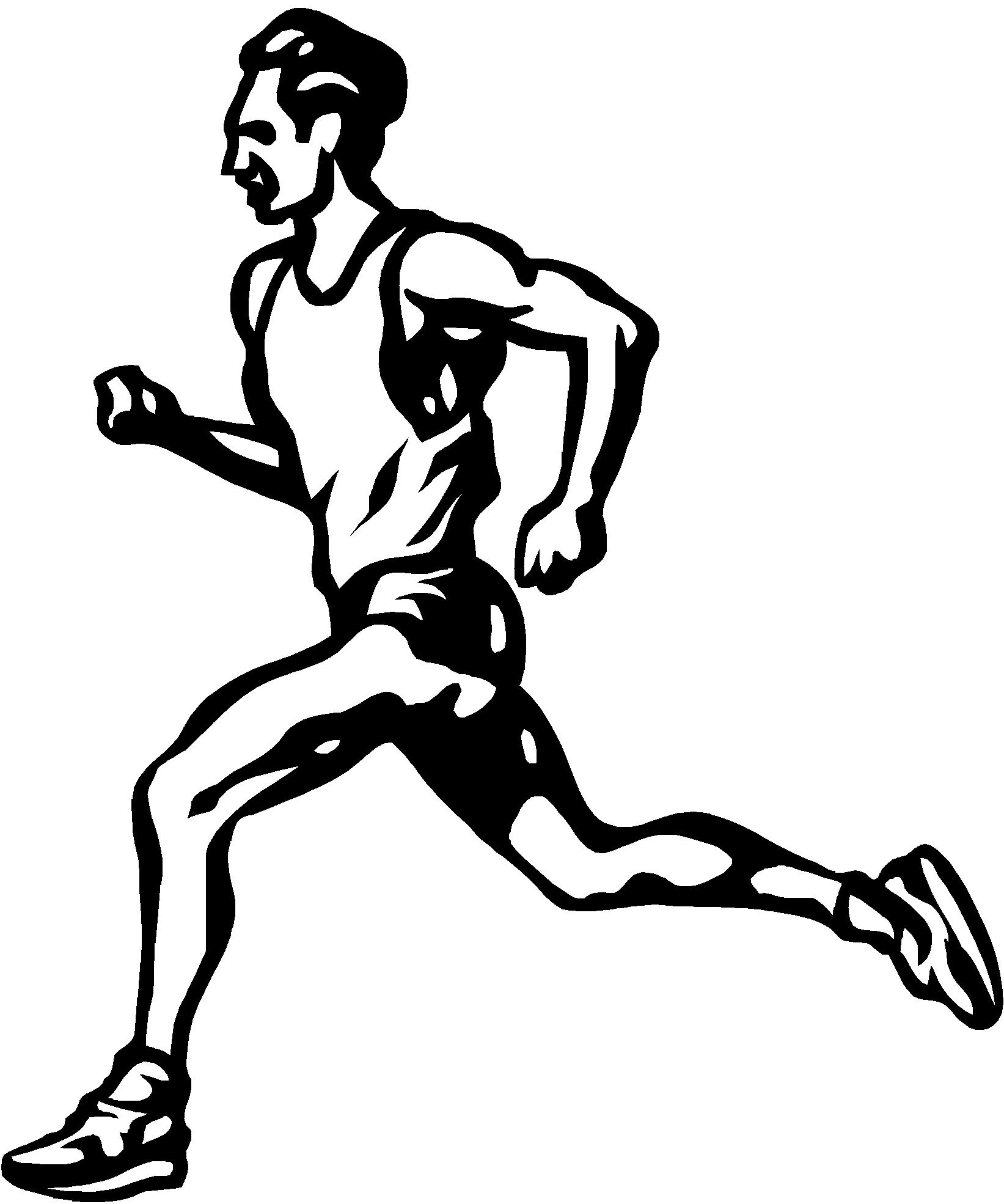 Runner Drawing At Getdrawings