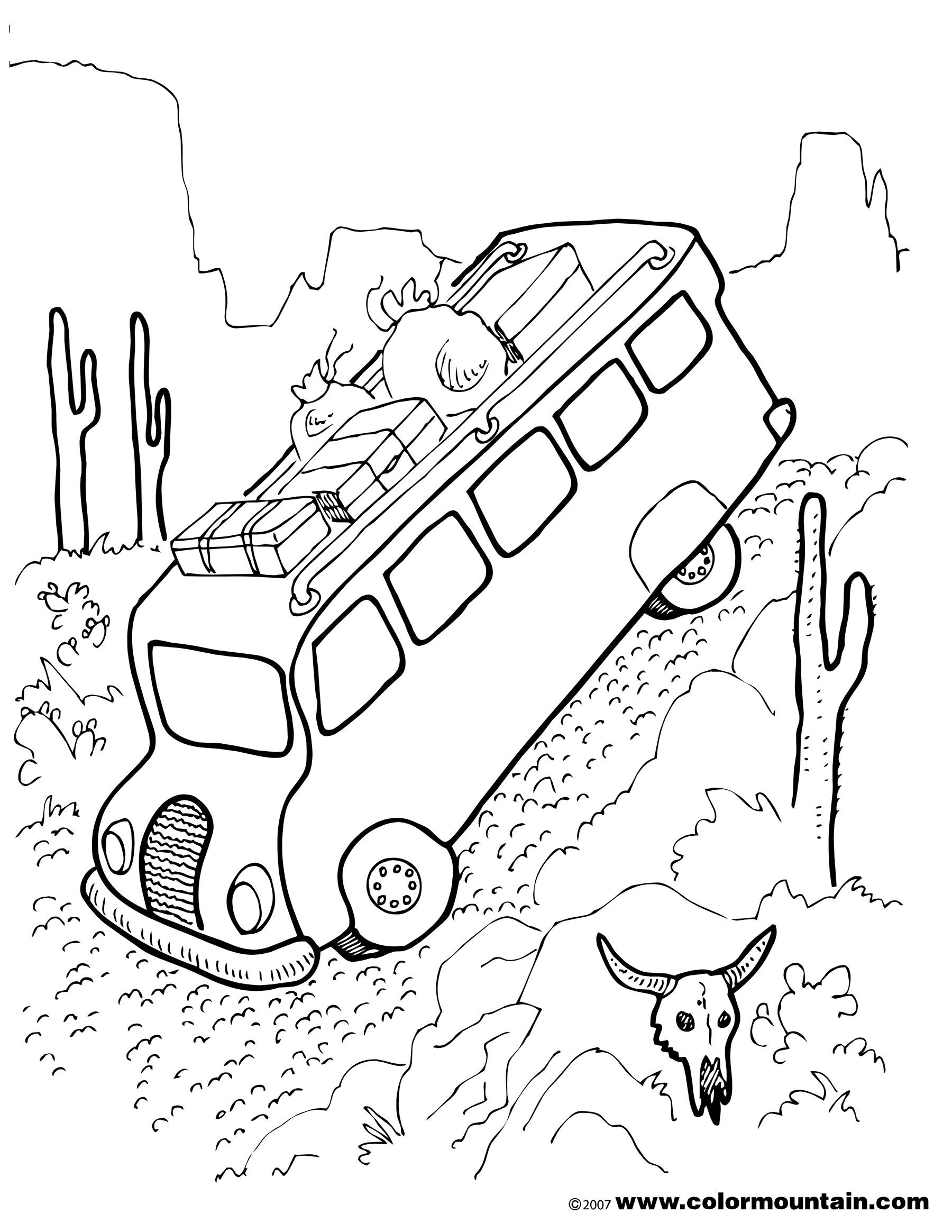 Rv Drawing At Getdrawings