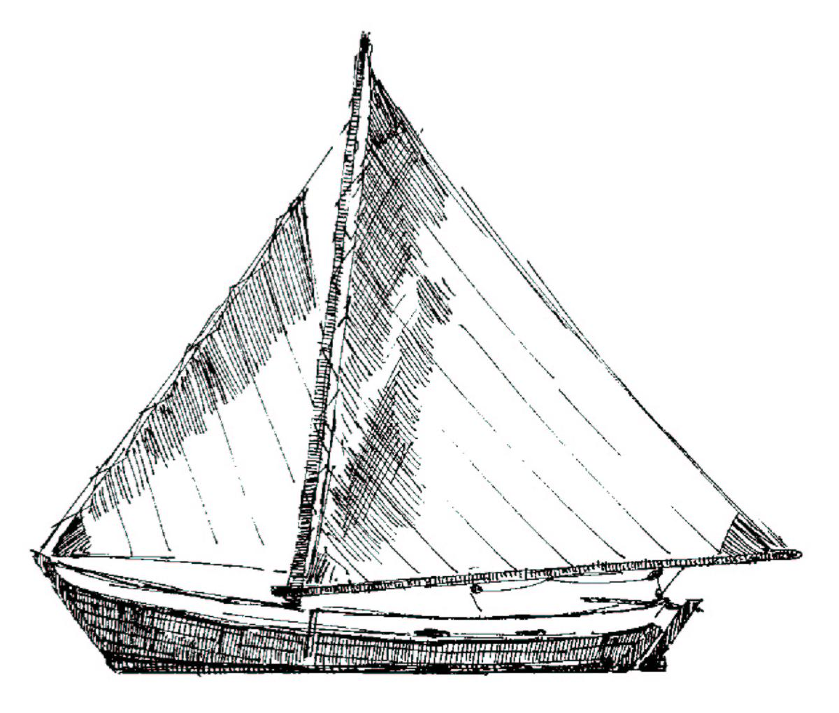 Sail Boat Drawing At Getdrawings