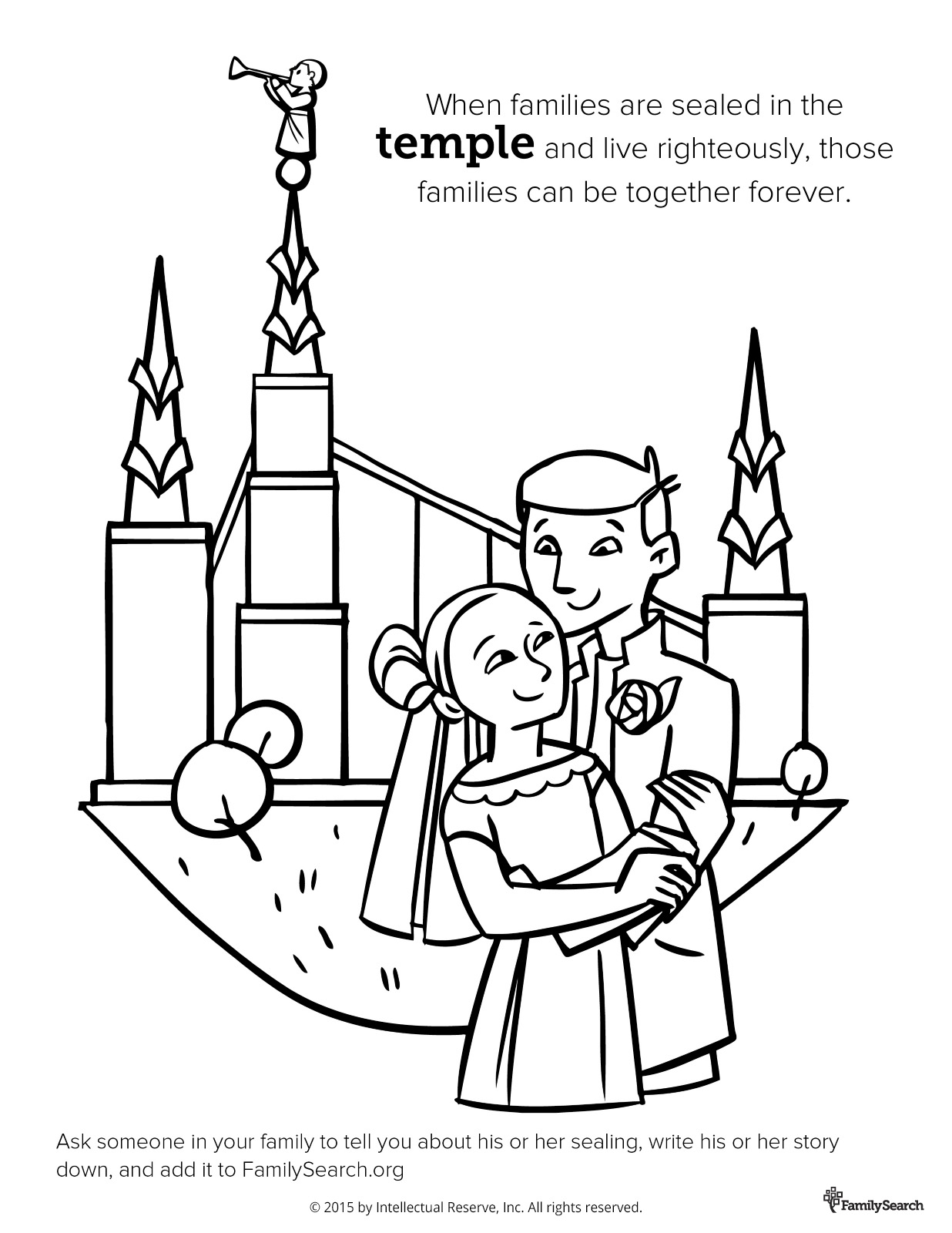 Salt Lake Temple Drawing At Getdrawings