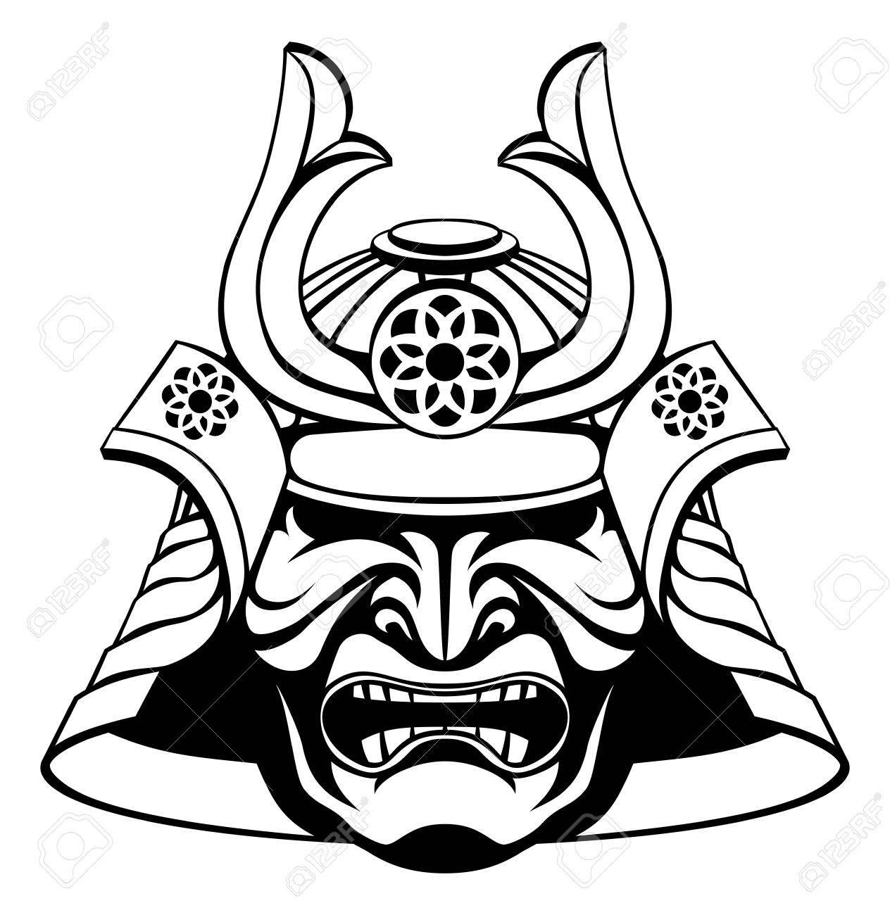 Samurai Armor Drawing At Getdrawings