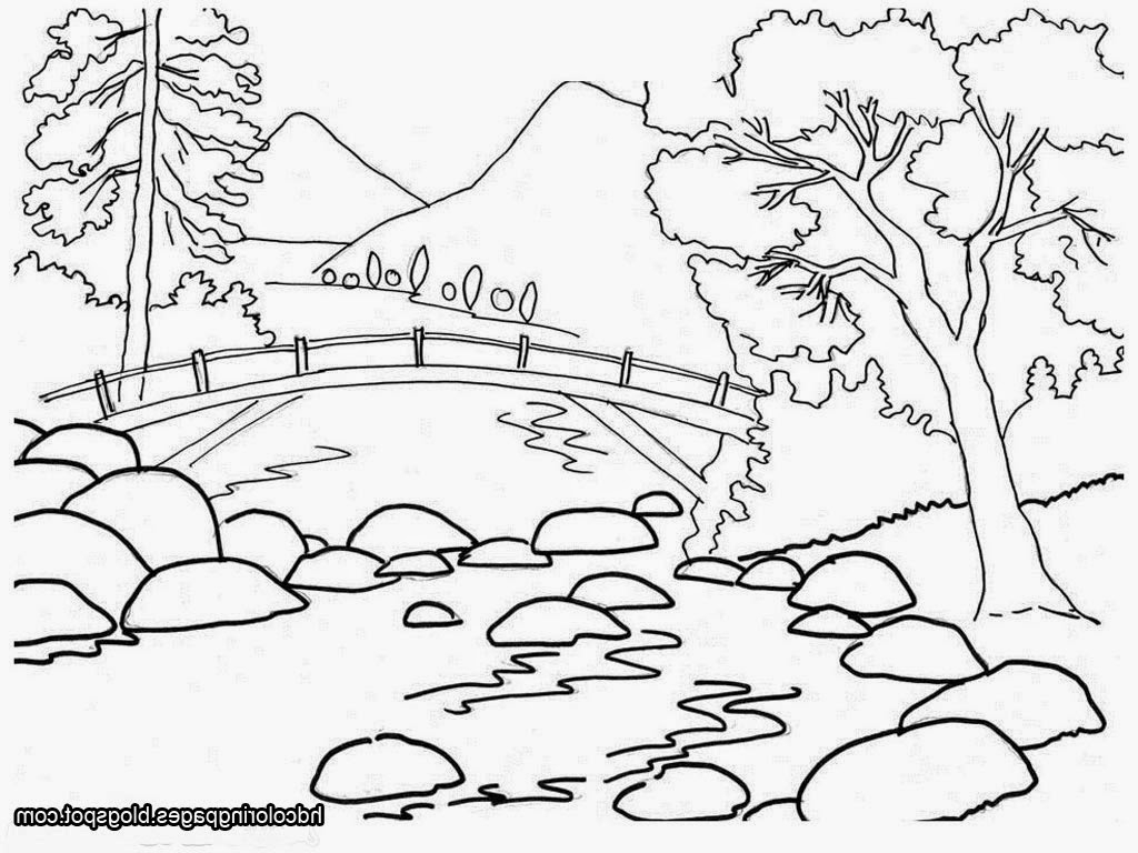 Scenery Drawing For Class 1 At Getdrawings