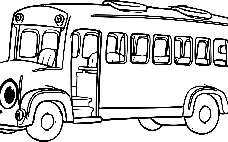 School Bus Drawing For Kids At Getdrawings