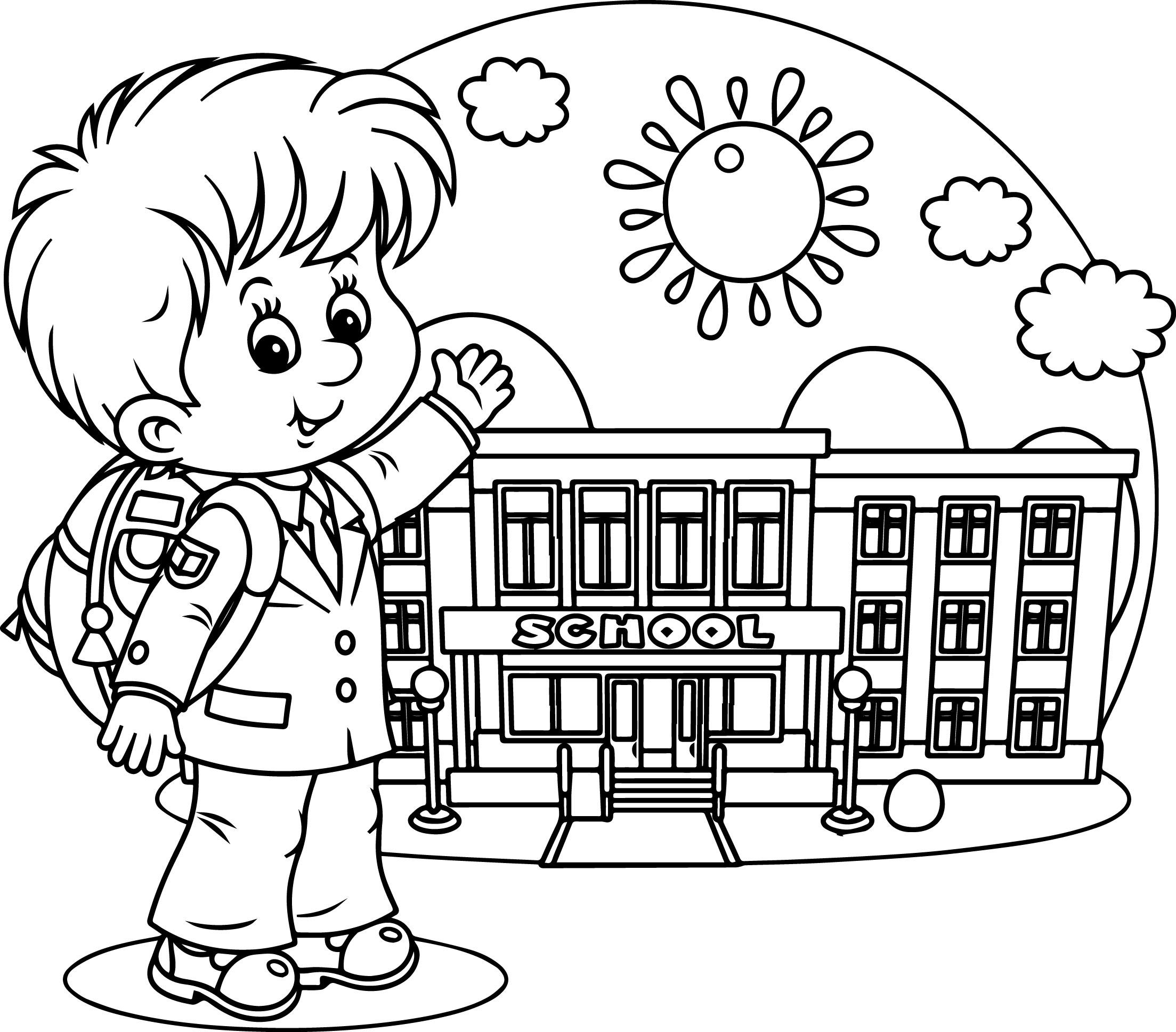 School Drawing For Kids At Getdrawings