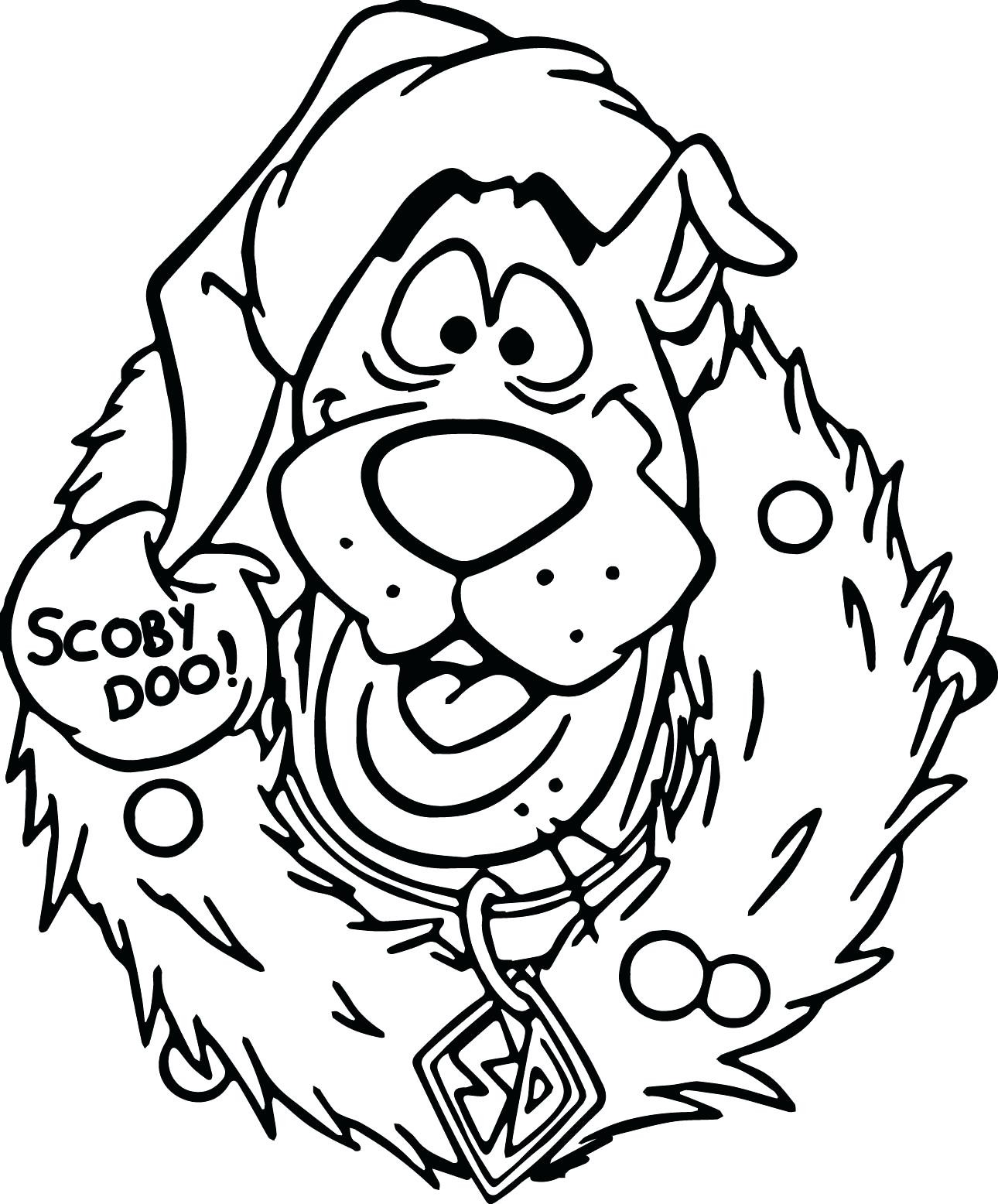 Scooby Doo Face Drawing At Getdrawings