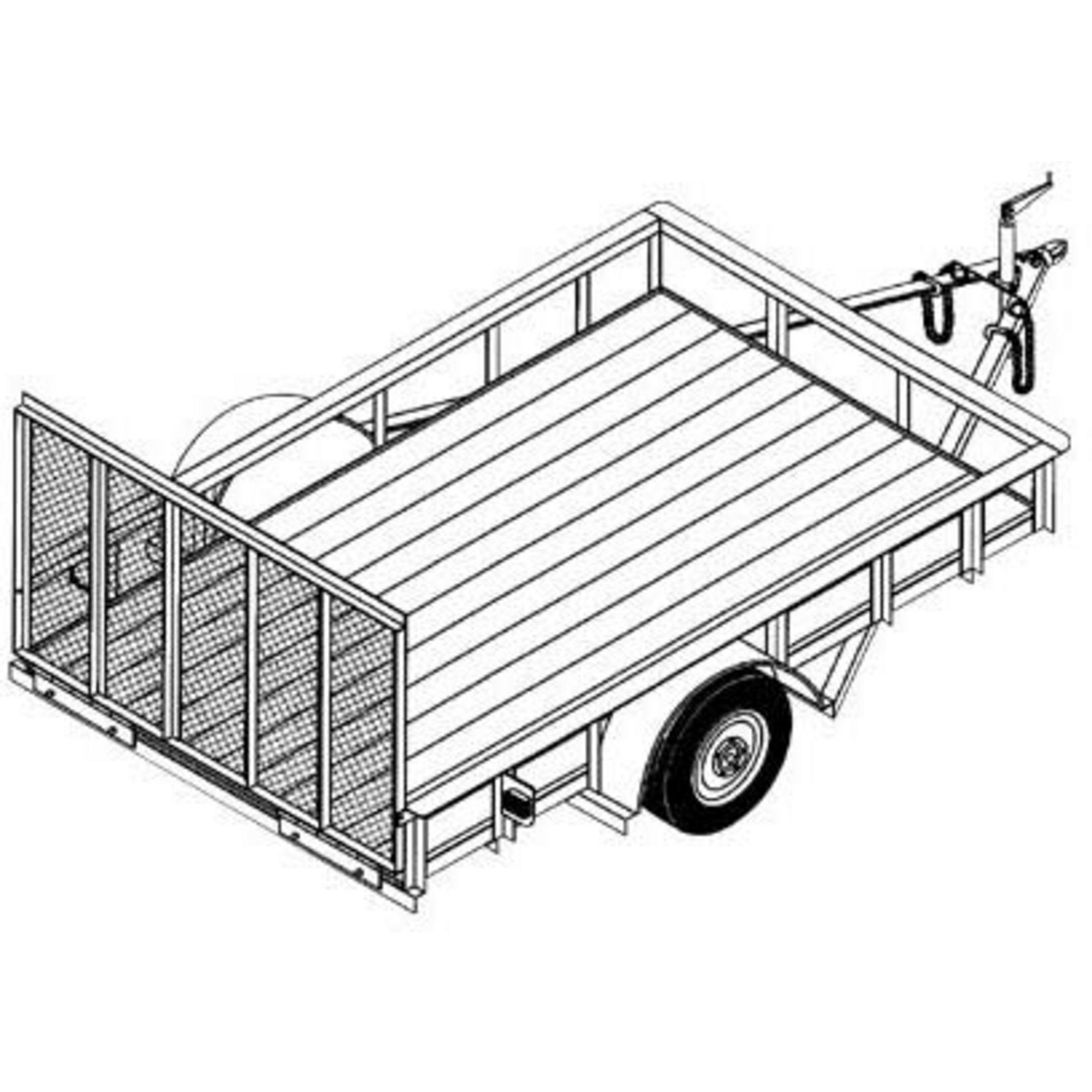 Aluminum Utility Truck Beds