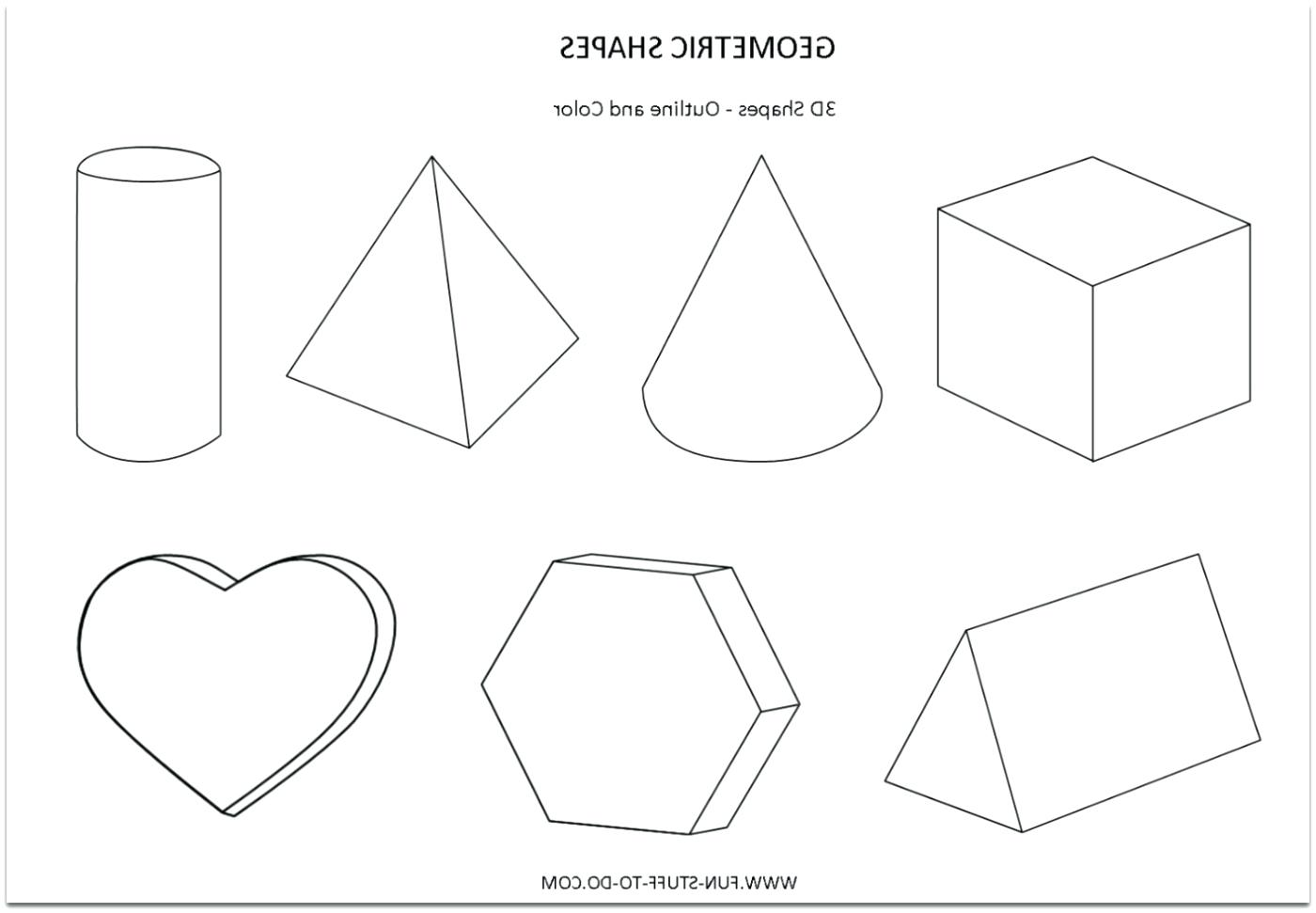 Finish Drawing Shapes Worksheet