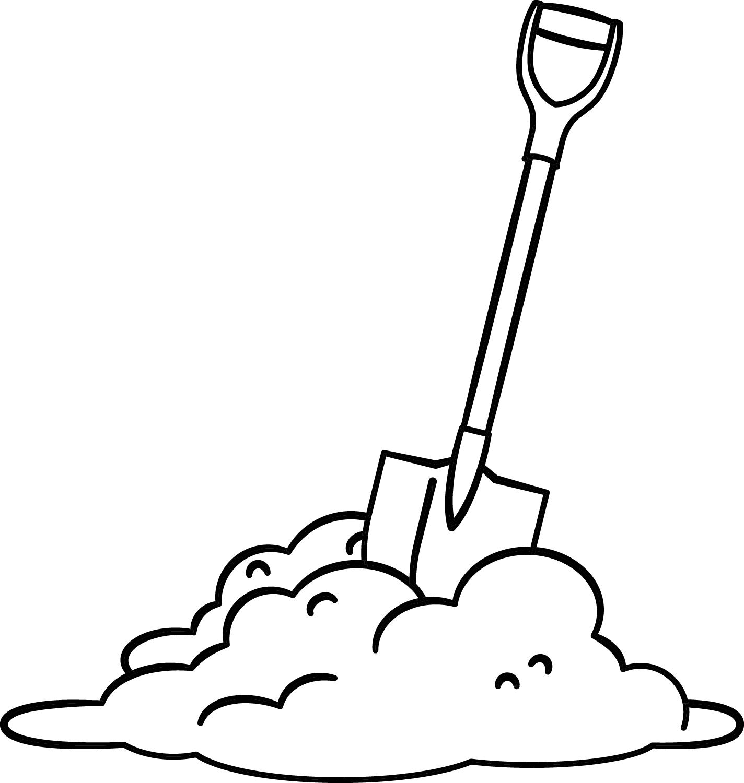 Shovel Drawing At Getdrawings
