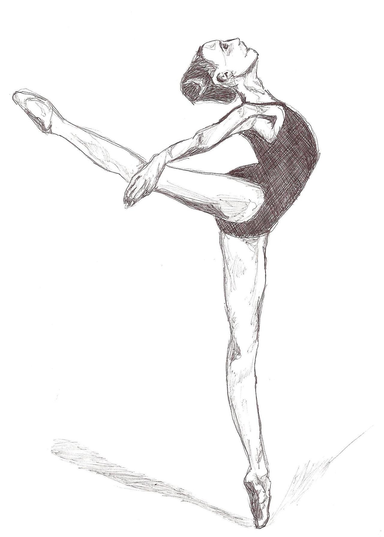 Gymnastics Girl Drawings Tumblr