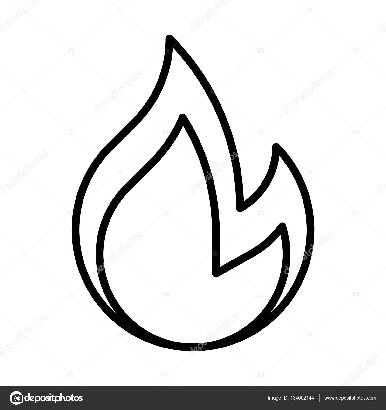 Simple Flame Drawing At Getdrawings