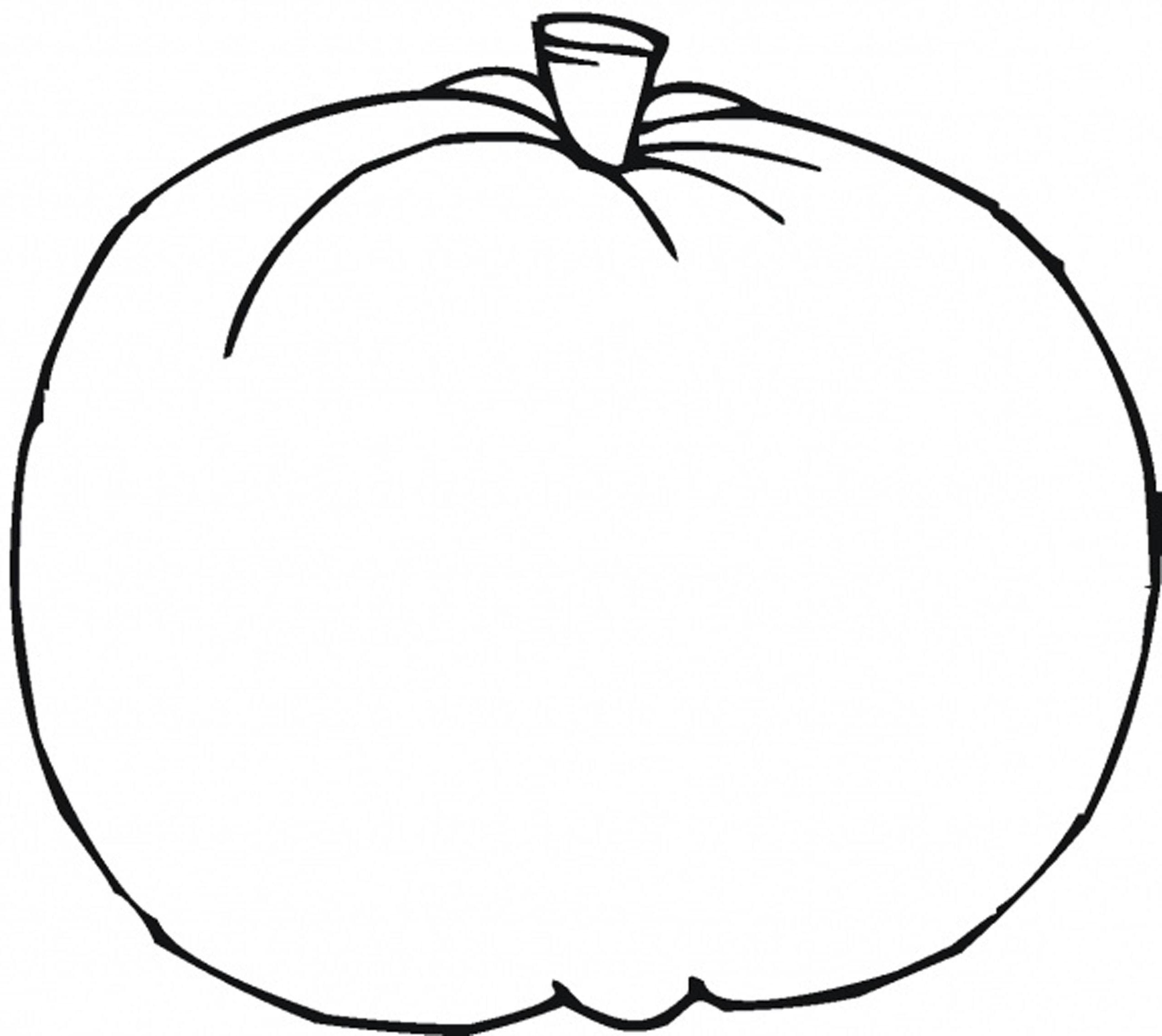 Simple Pumpkin Drawing At Getdrawings