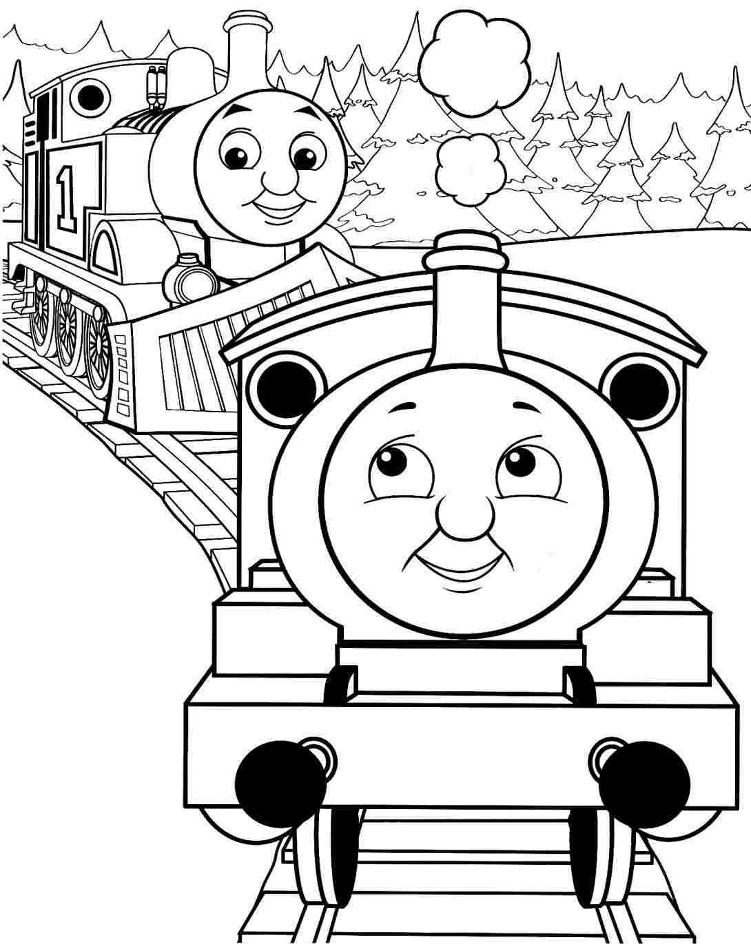 Simple Steam Train Drawing At Getdrawings
