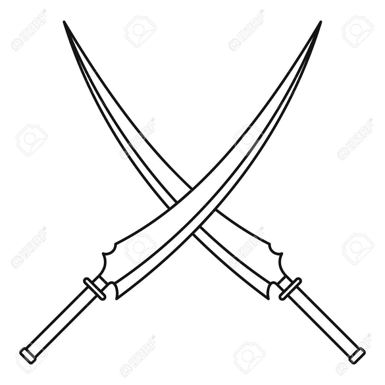 Simple Sword Drawing At Getdrawings