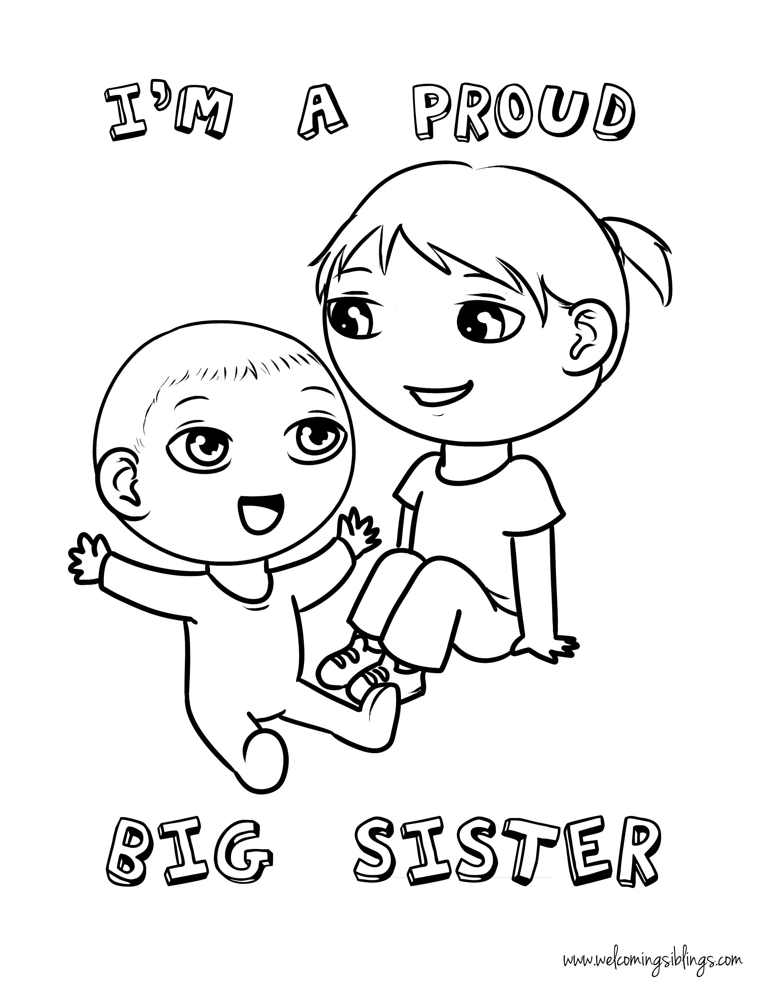 Sister Drawing At Getdrawings
