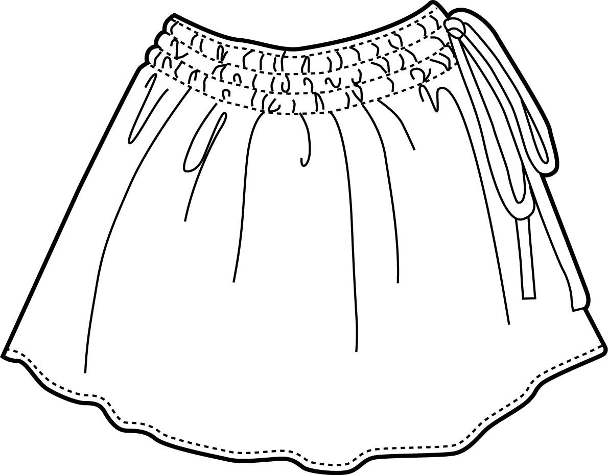 Skirt Drawing At Getdrawings