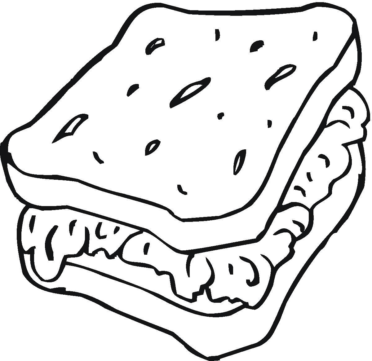 Slice Of Bread Drawing At Getdrawings