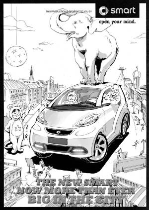 Smart Car Drawing at GetDrawings | Free for personal use Smart Car Drawing of your choice
