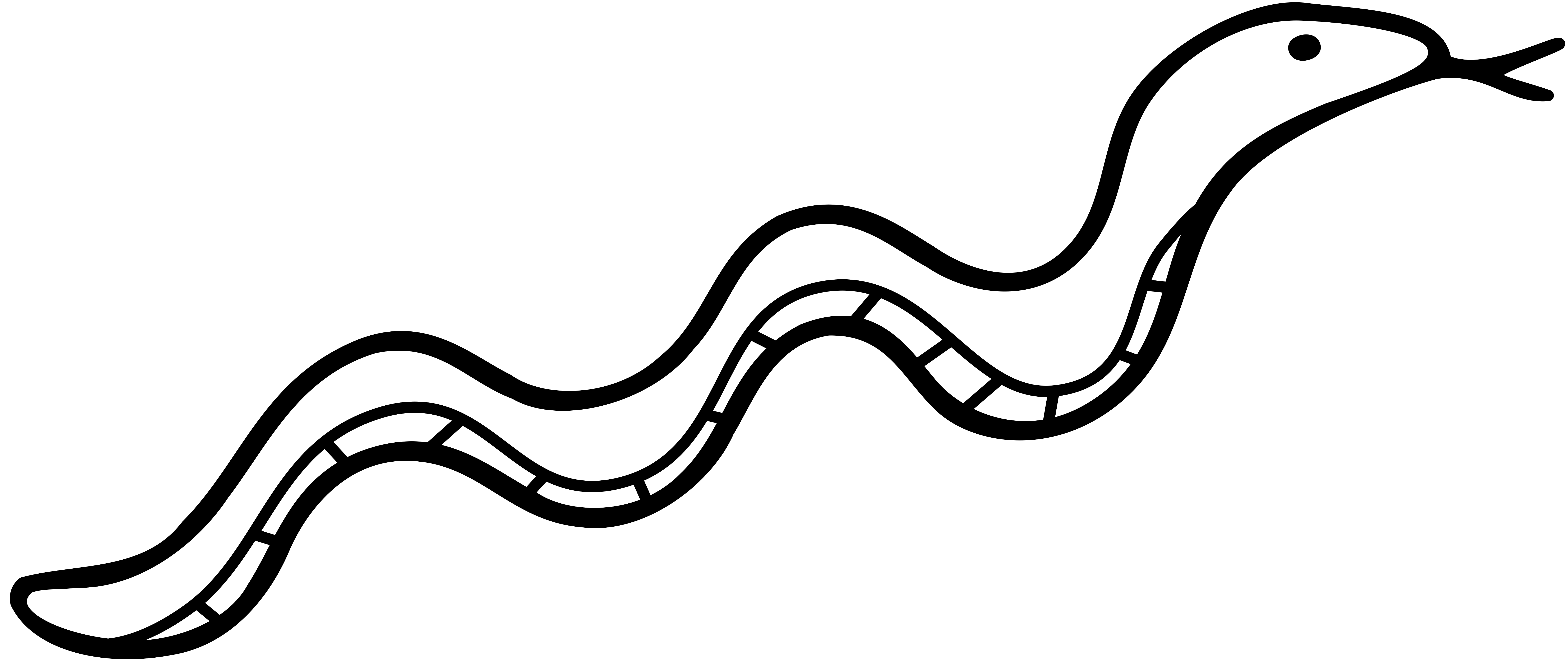 Snake Outline Drawing At Getdrawings