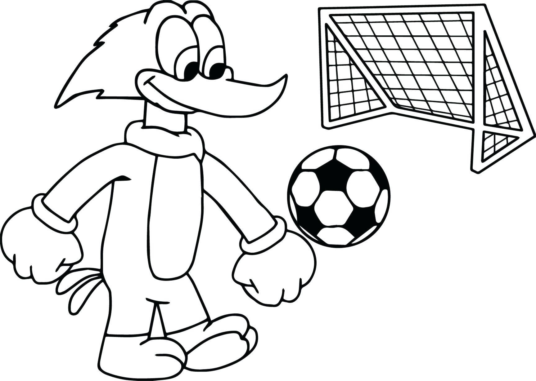 Soccer Drawing At Getdrawings