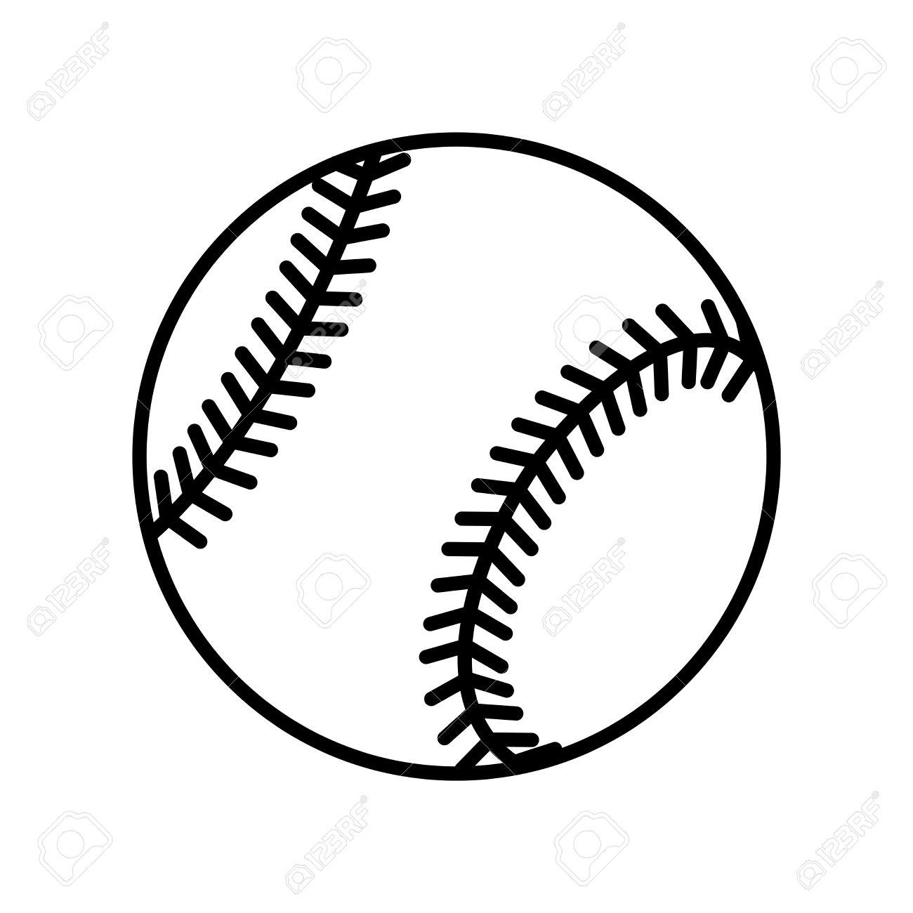Softball Drawing At Getdrawings