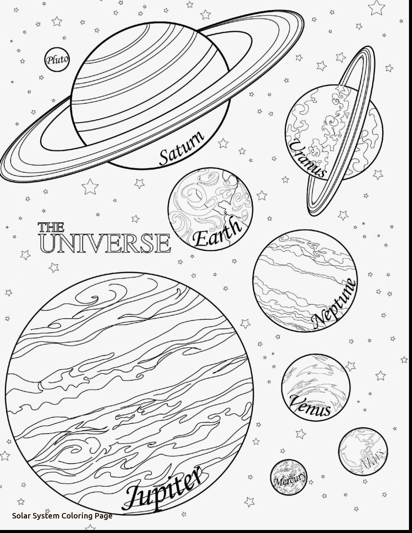 Solar System Drawing At Getdrawings