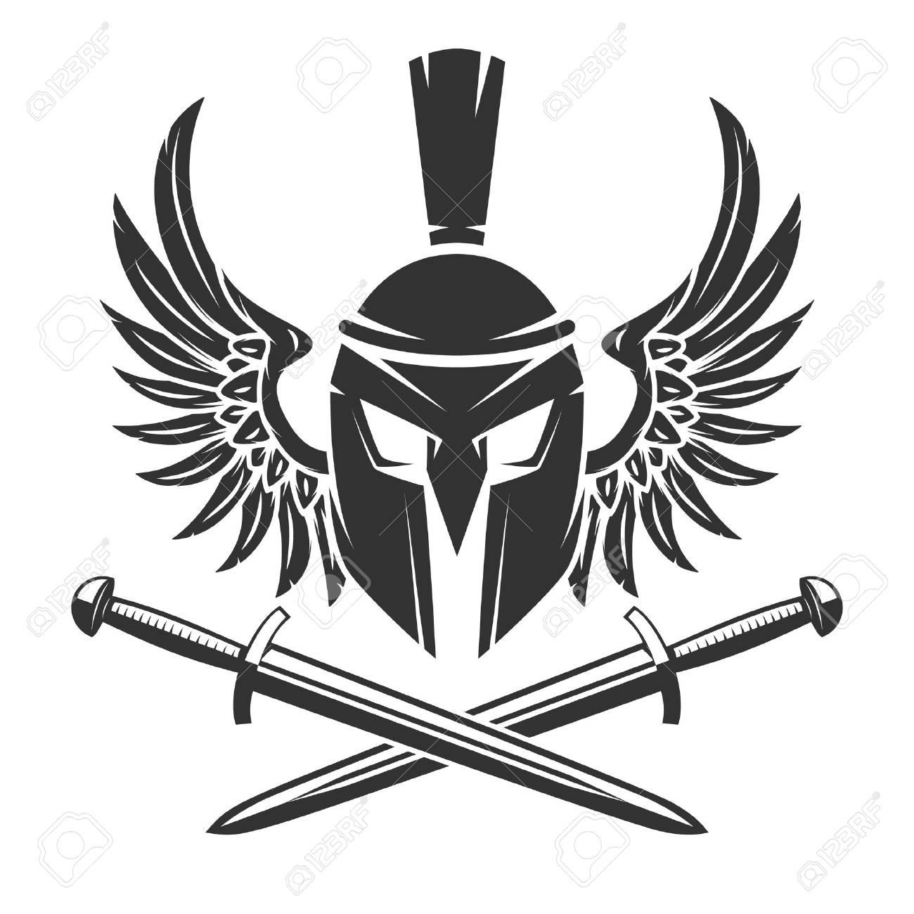 Spartan Shield Drawing At Getdrawings