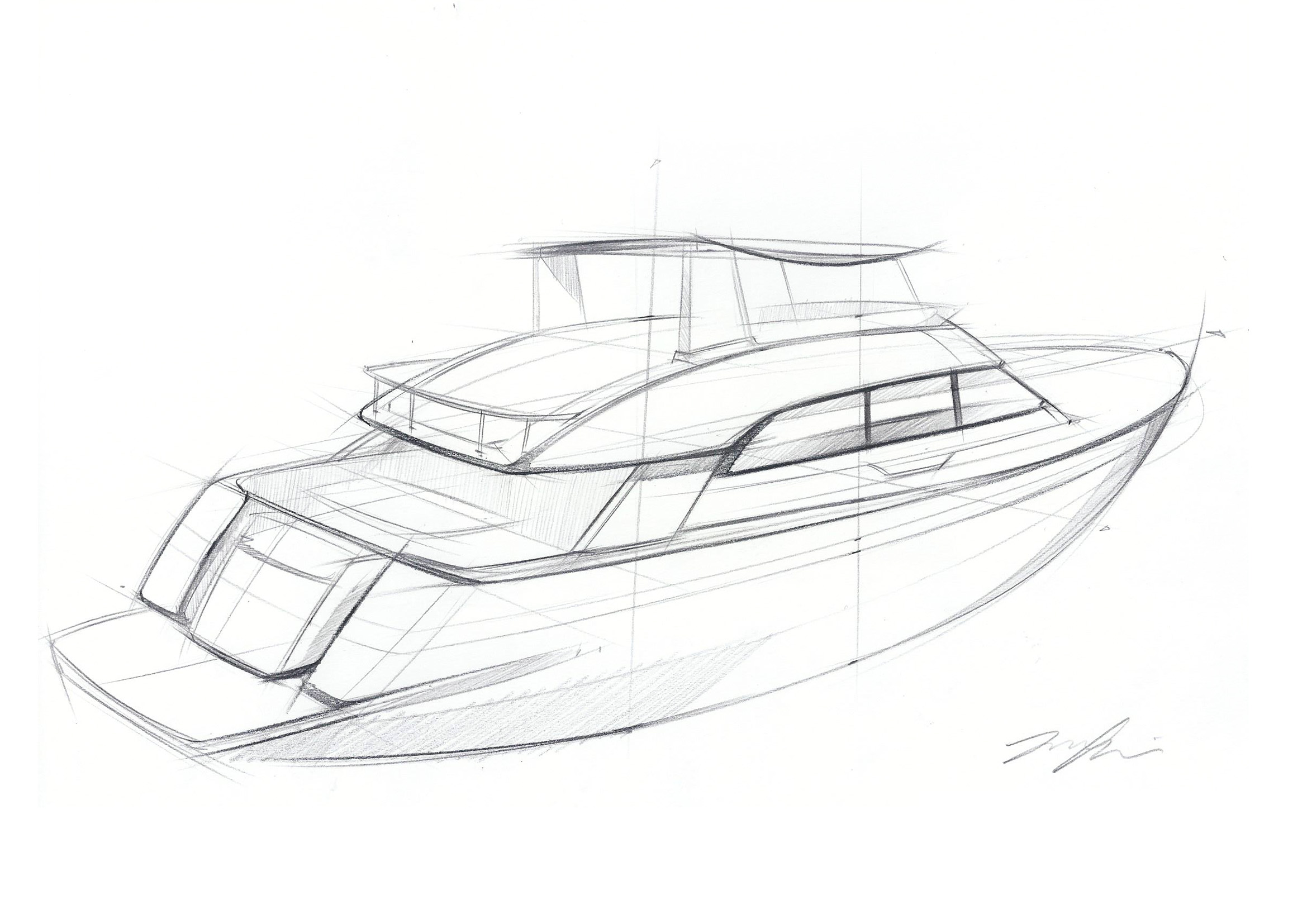 Speed Boat Drawing At Getdrawings
