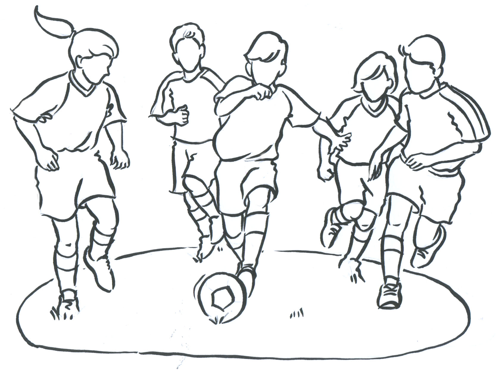 Sport Drawing At Getdrawings
