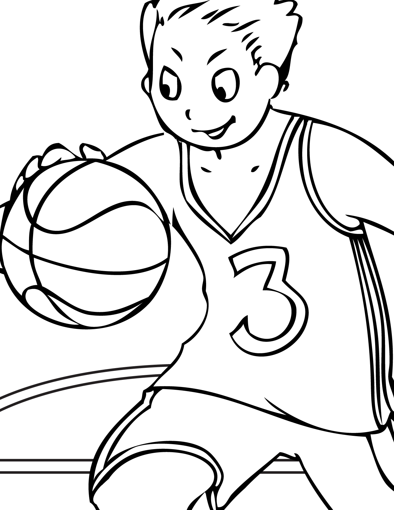 Sports Drawing For Kids At Getdrawings
