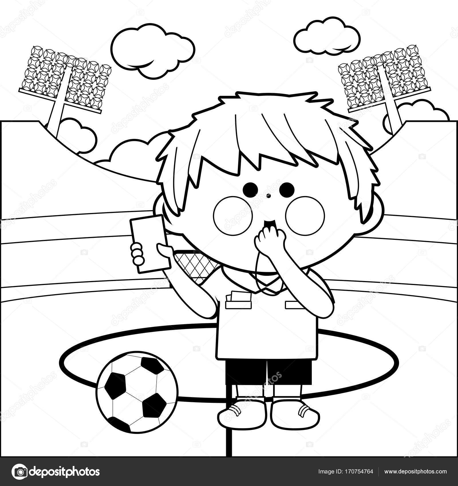 The Best Free Referee Drawing Images Download From 19