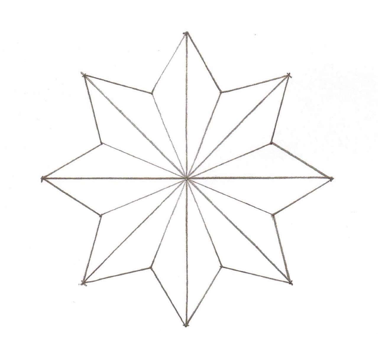 Star Shape Drawing At Getdrawings