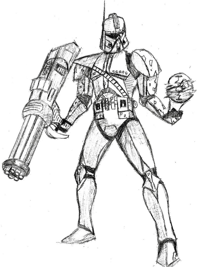star wars clone drawing at getdrawings  free download
